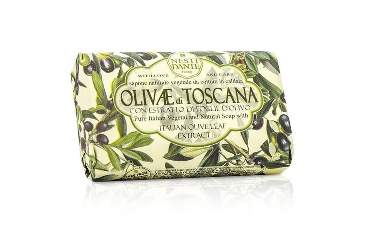 Nesti Dante Natural Soap With Italian Olive Leaf Extract  - Olivae Di Toscana 150g
