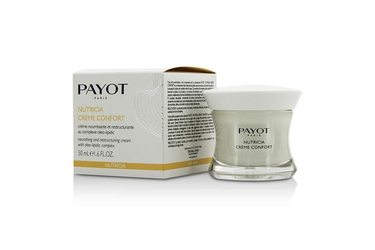 Payot Nutricia Creme Confort Nourishing & Restructuring Cream - For Dry Skin 50ml
