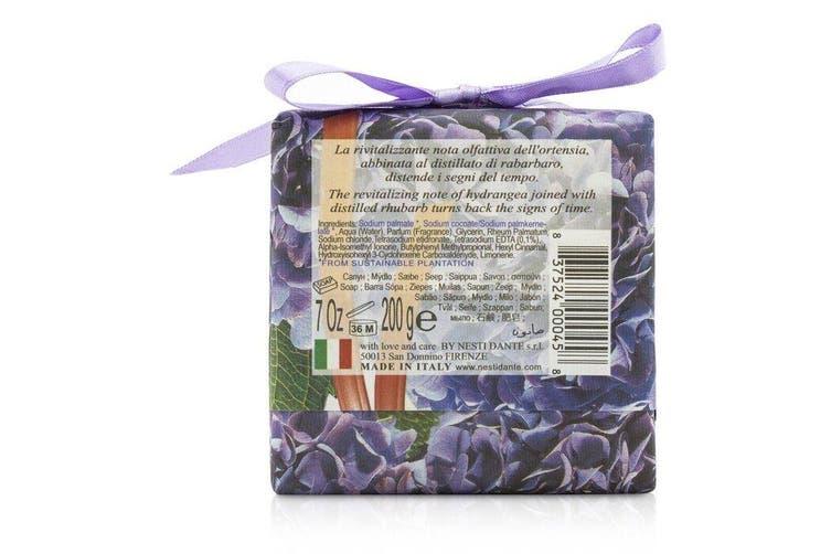Nesti Dante Gli Officinali Soap - Hydrangea & Rhubarb - Tonic & Energizing 200g