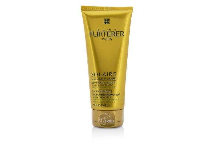 Rene Furterer Solaire Nourishing Shower Gel with Jojoba Wax (Hair and Body) 200ml