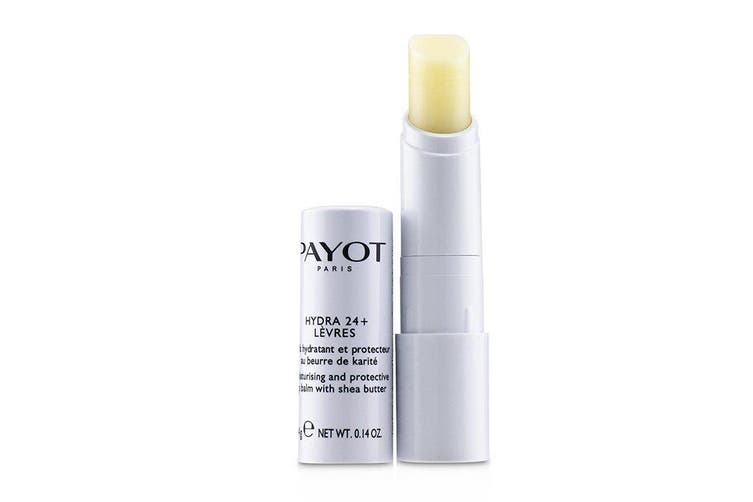 Payot Hydra 24+ Moisturising and Protective Lip Balm With Shea Butter - For Damaged Lips 4g
