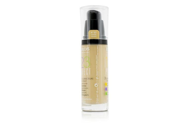 Bourjois 123 Perfect Foundation SPF 10 - No. 52 Vanilla 30ml