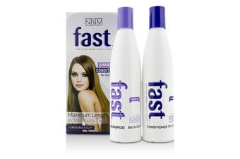 Nisim F.A.S.T Fortified Amino Scalp Therapy 2 Pack - No Sulfates : Shampoo 300ml + Conditioner 300ml 2pcs