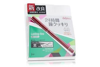 Dejavu Lasting Fine Pencil Eyeliner - Real Black 0.15g