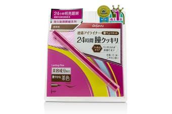Dejavu Lasting Fine Brush Liquid Eyeliner - Glossy Brown 0.55ml
