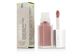 Clinique Pop Liquid Matte Lip Colour + Primer - # 01 Cake Pop 6ml