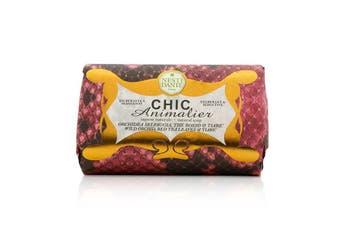 Nesti Dante Chic Animalier Natural Soap - Wild Orchid, Red Tea Leaves & Tiare 250g
