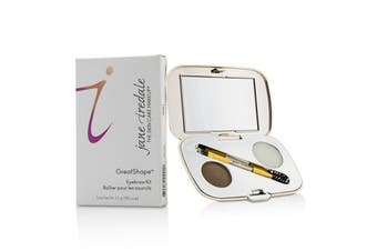 Jane Iredale GreatShape Eyebrow Kit (1x Brow Powder, 1x Brow Wax, 1x Applicator) - Brunette 2.5g