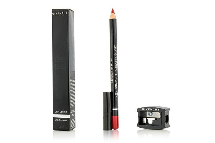 Givenchy Lip Liner (With Sharpener) - # 06 Carmin Escarpin 1.1g