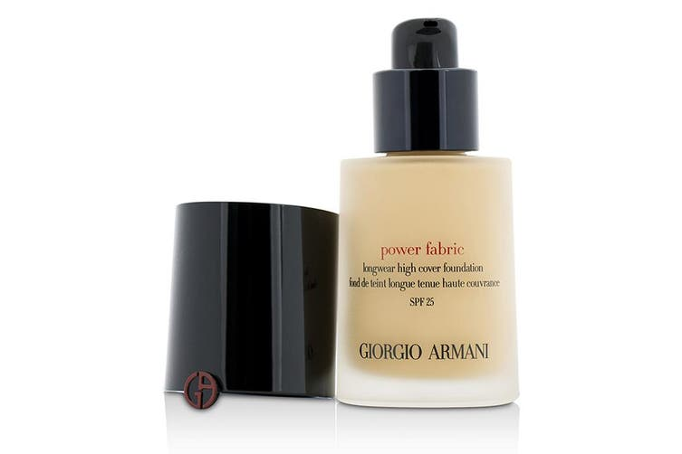 Giorgio Armani Power Fabric Longwear High Cover Foundation SPF 25 - # 3 (Fair, Rosy) 30ml