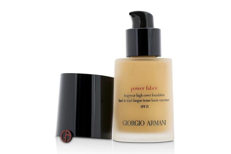 Giorgio Armani Power Fabric Longwear High Cover Foundation SPF 25 - # 4 (Fair, Warm) 30ml
