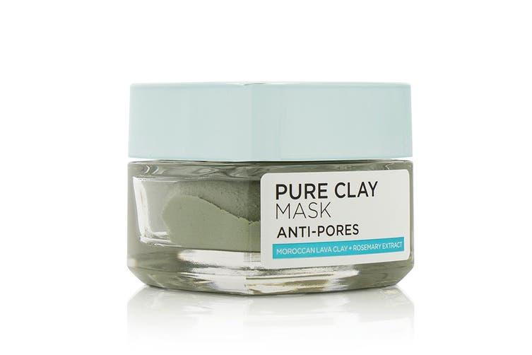 L'Oreal Pure Clay Anti-Pores Mask 50g