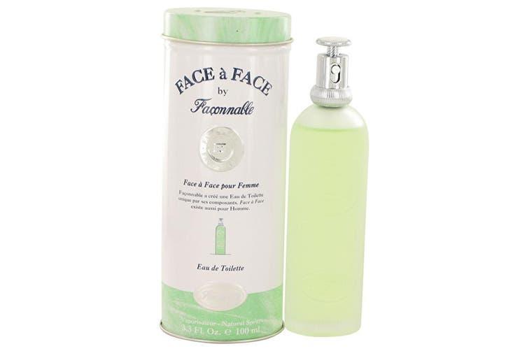 Faconnable Face A Face Eau De Toilette Spray 100ml