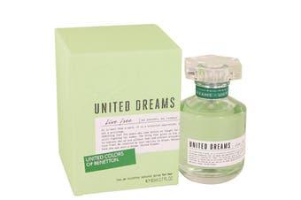 Benetton United Dreams Live Free Eau de Toilette SpraySpray 80ml