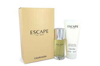 Calvin Klein Escape Gift Set - Eau De Toilette Spray + 6.7 oz After Shave Balm