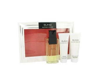 Alfred Sung Gift Set - Eau De Toilette Spray + 2.5 oz Body Lotion + 2.5 oz Shower Gel