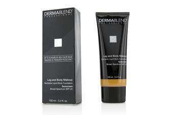 Dermablend Leg and Body Make Up Buildable Liquid Body Foundation Sunscreen Broad Spectrum SPF 25 - #Tan Honey 45W 100ml