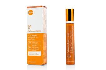 Dr Dennis Gross C + Collagen Brighten & Firm Eye Cream 15ml