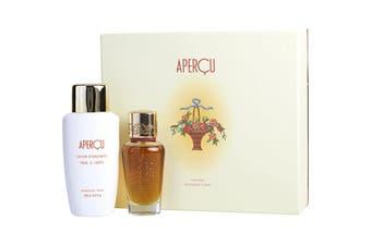Houbigant Apercu Gift Set - Eau De Toilette Spray + 6.7 oz Body Lotion