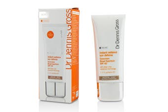 Dr Dennis Gross Instant Radiance Sun Defense Sunscreen Broad Spectrum SPF 40- Medium - Deep 50ml