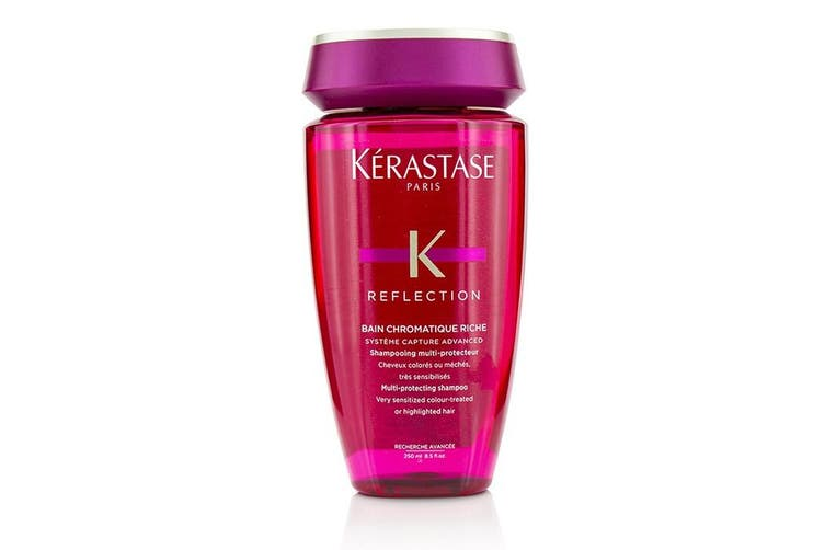 Kerastase Reflection Bain Chromatique Riche Multi-Protecting Shampoo (Very Sensitized Colour-Treated or Highlighted Hair) 250ml