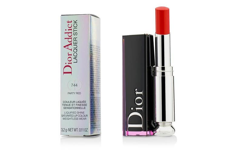Christian Dior Dior Addict Lacquer Stick - # 744 Party Red 3.2g