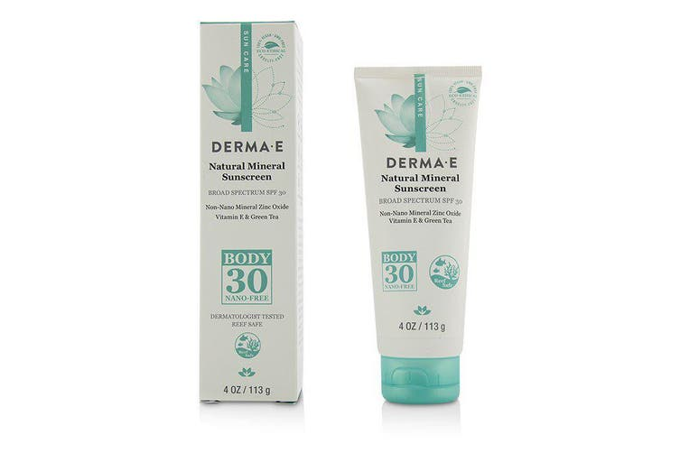Derma E Natural Mineral Sunscreen Broad Spectrum SPF 30 - Body 113g