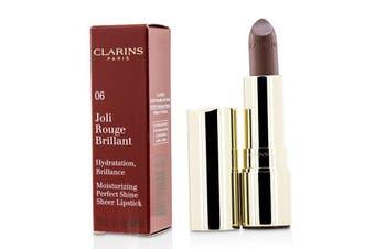 Clarins Joli Rouge Brillant (Moisturizing Perfect Shine Sheer Lipstick) - # 06 Fig 3.5g