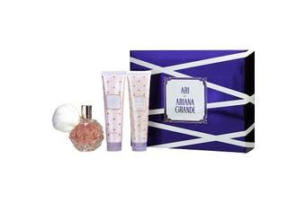 Ariana Grande Ari Gift Set - Eau De Parfum Spray + Body Lotion + Shower Gel