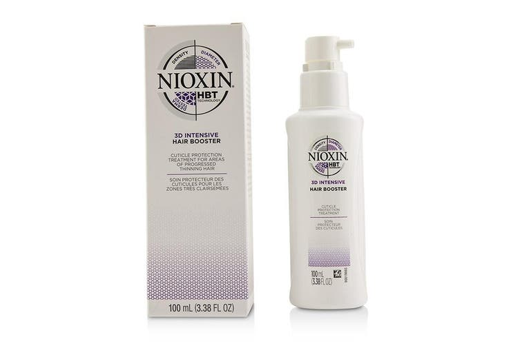 Nioxin 3D Intensive Hair Booster (Cuticle Protection Treatment For Areas Of Progressed Thinning Hair) 100ml