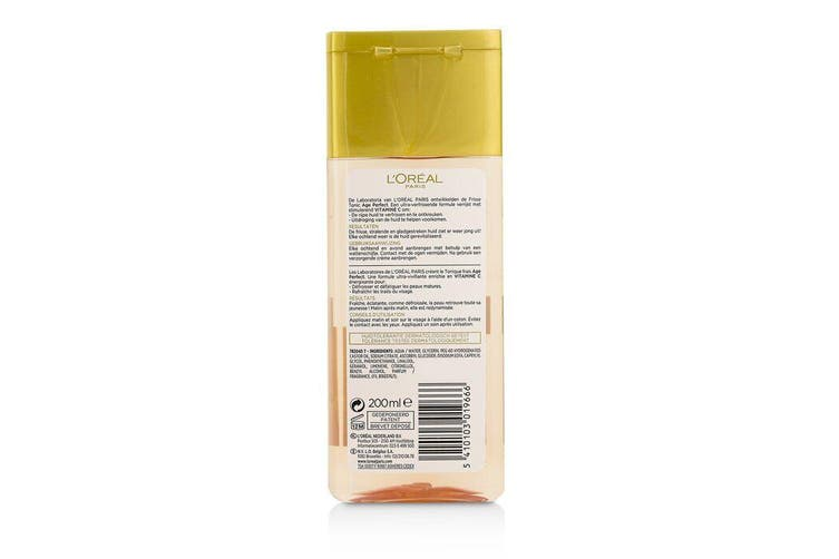 L'Oreal Age Perfect Comfortable toner With Vitamin C (For Mature Skin) 200ml