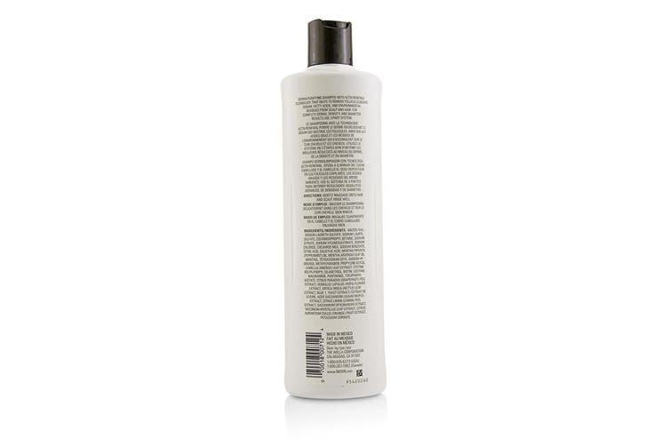 Nioxin Derma Purifying System 2 Cleanser Shampoo (Natural Hair, Progressed Thinning) 500ml