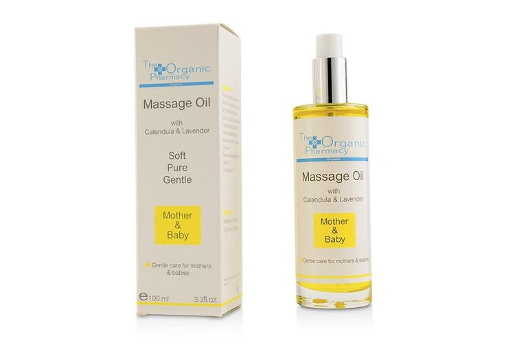 The Organic Pharmacy Mother & Baby Massage Oil 100ml
