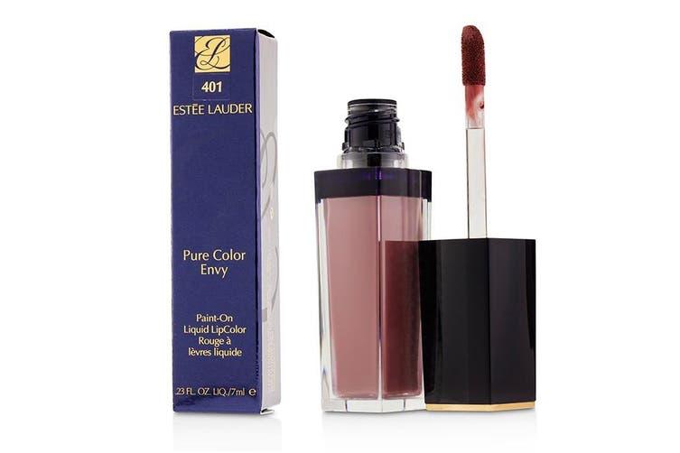 Estee Lauder Pure Color Envy Paint On Liquid LipColor - # 401 Brunt Raisin (Matte) 7ml