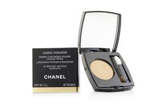 Chanel Ombre Premiere Longwear Powder Eyeshadow - # 32 Bronze Antique (Satin) 2.2g