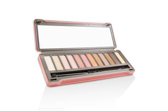 BYS Eyeshadow Palette (12x Eyeshadow, 2x Applicator) - Peach 12g
