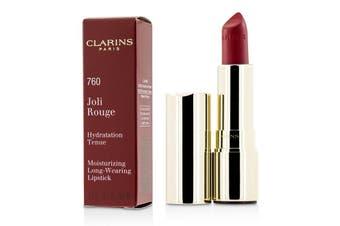 Clarins Joli Rouge (Long Wearing Moisturizing Lipstick) - # 760 Pink Cranberry 3.5g
