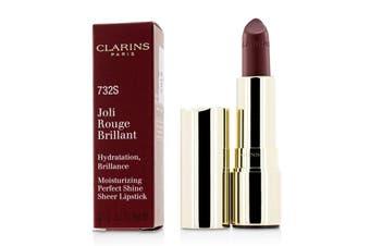 Clarins Joli Rouge Brillant (Moisturizing Perfect Shine Sheer Lipstick) - # 732S Grenadine 3.5g