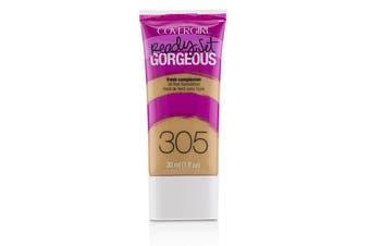 Covergirl Ready Set Gorgeous Oil Free Foundation - # 305 Golden Tan 30ml