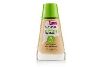 Covergirl Clean Sensitive Liquid Foundation - # 535 Medium Light 30ml