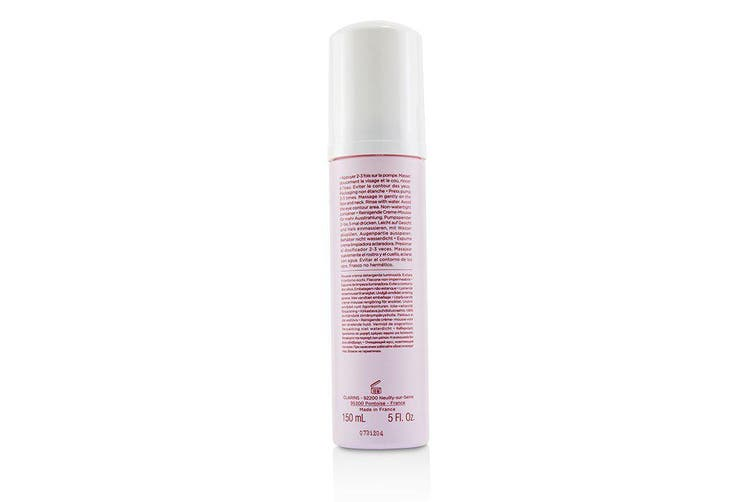Clarins White Plus Pure Translucency Brightening Creamy Mousse Cleanser 150ml