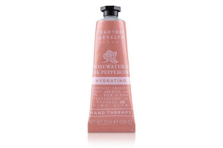 Crabtree & Evelyn Rosewater & Pink Peppercorn Hydrating Hand Therapy 25ml