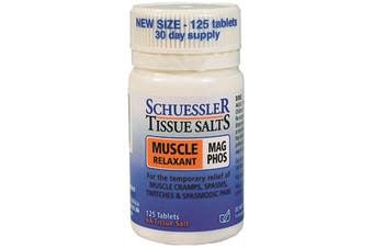 Martin & Pleasance Schuessler Tissue Salts Mag Phos (Muscle Relaxant) 125t