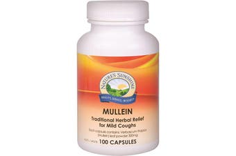 Nature's Sunshine Mullein 300mg 100c