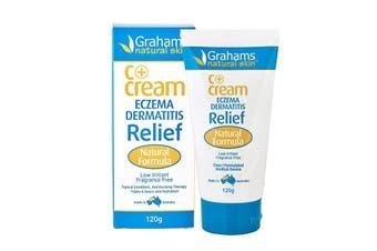 Grahams Natural C+ Cream (Eczema & Dermatitis Relief) 120g