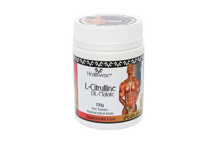 Healthwise L-Citrulline DL-Malate 150g Powder