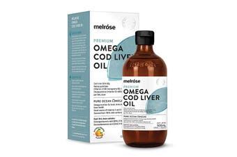 Melrose Premium Omega Cod Liver Oil 500ml