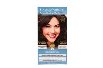 Tints of Nature Perm. Hair Colour Natural Medium Brown 4N