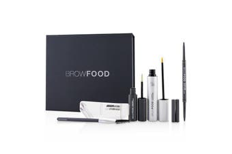 LashFood BrowFood Brow Transformation System - # Dark Brunette (Medium/Dark) 5pcs