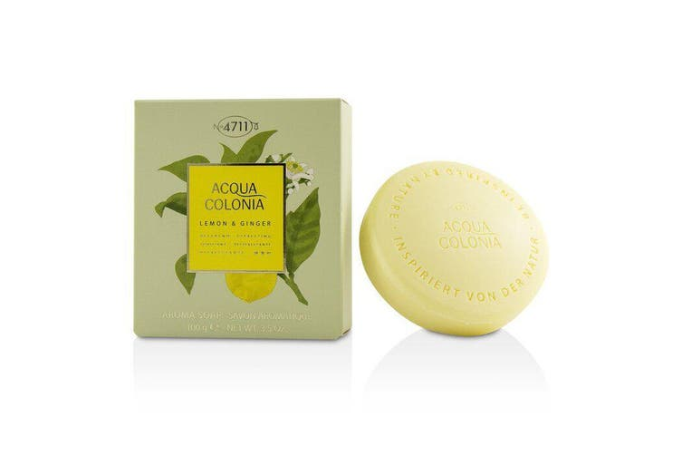 4711 Acqua Colonia Lemon & Ginger Aroma Soap 100g